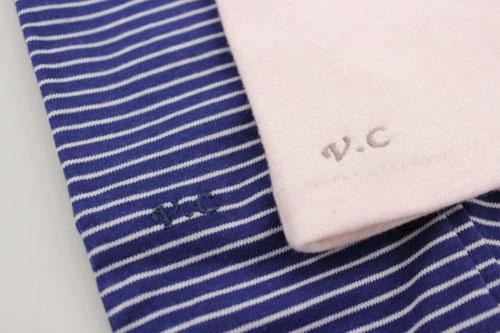 グローブデポセミオーダーUV手袋の刺繍